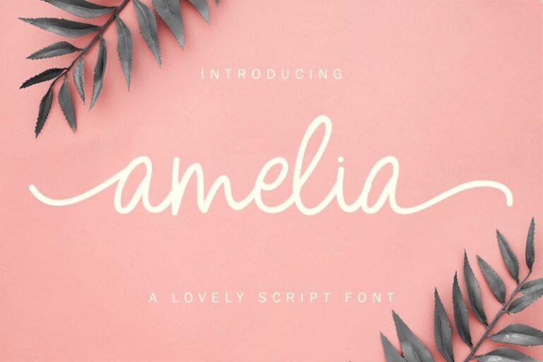 Preview image of Amelia Script