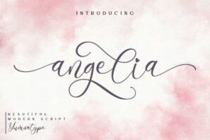 Angelia - Lovely Script.