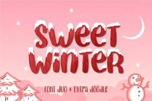 Sweet Winter - Font Duo Extras