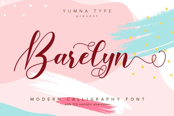 Preview image of Barelyn Script
