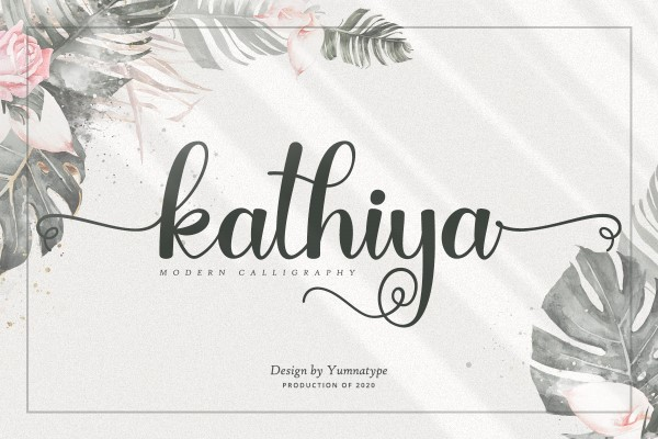 Preview image of Kathiya Script