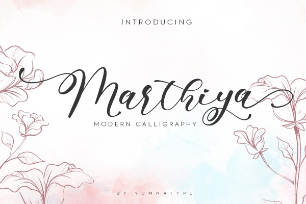 Preview image of Marthiya Script