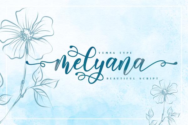 Preview image of Melyana Script