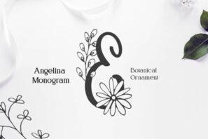 Angelina Monogram
