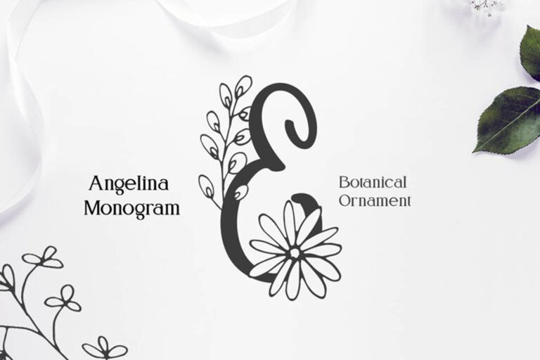 Preview image of Angelina Monogram