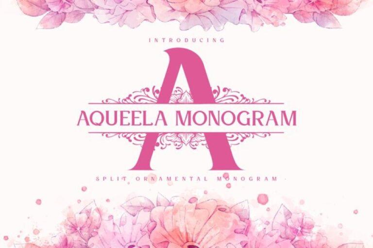 Preview image of Aqueela Monogram