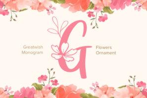 Great Wishes Monogram