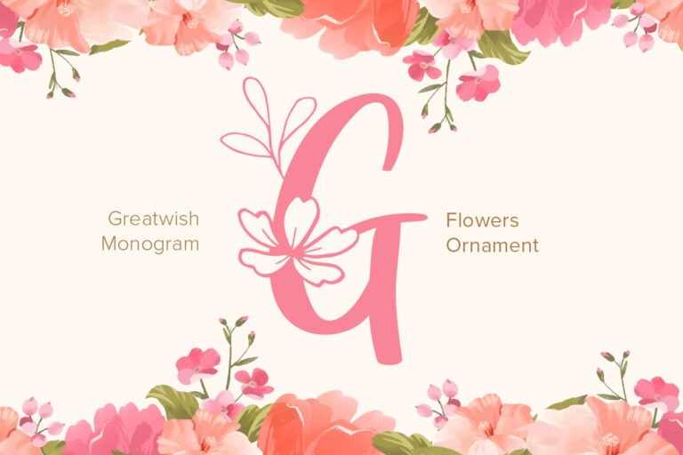 Preview image of Great Wishes Monogram