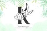 Last preview image of Kafina Monogram