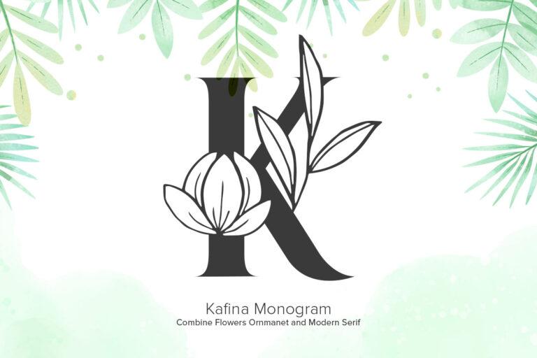Preview image of Kafina Monogram
