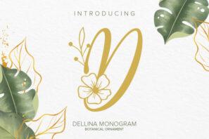Dellina Monogram