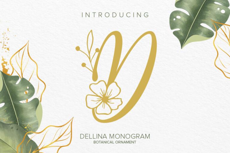 Preview image of Dellina Monogram