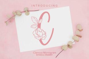 Clarissa Monogram