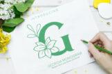 Last preview image of Georgia Monogram
