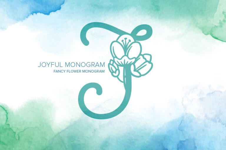Preview image of Joyful Monogram