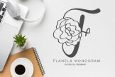 Last preview image of Flanela Monogram