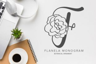 Flanela Monogram