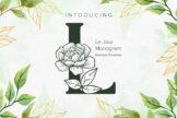 Last preview image of Le Jour Monogram