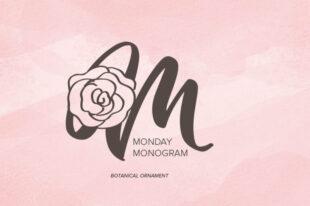 Monday Monogram