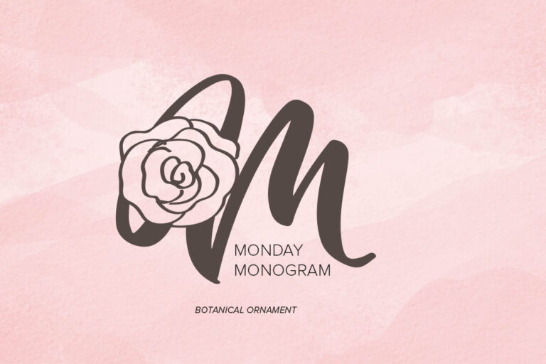 Preview image of Monday Monogram