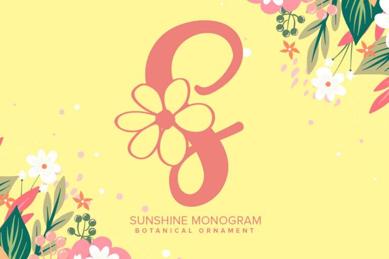 Preview image of Sunshine Monogram