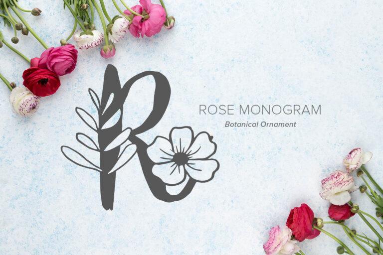 Preview image of Rose Monogram