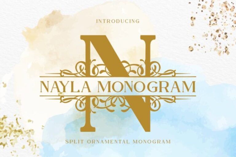 Preview image of Nayla Monogram