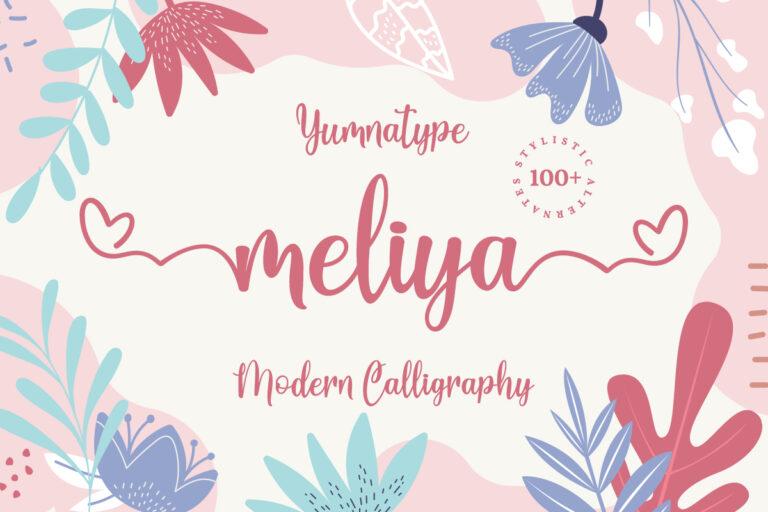 Preview image of Meliya Script