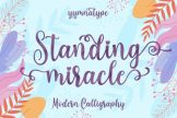 Last preview image of Standing Miracle Script