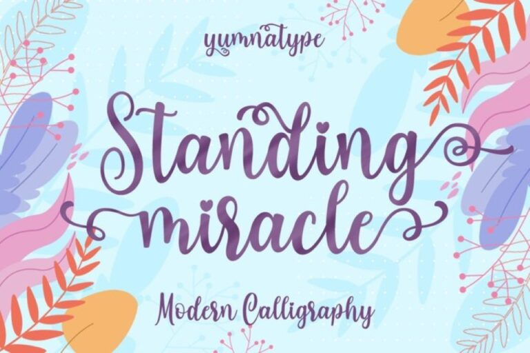 Preview image of Standing Miracle Script