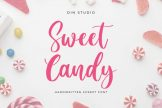Last preview image of Sweet Candy Script