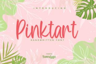 Pinktart-Lovely Handwritten Font