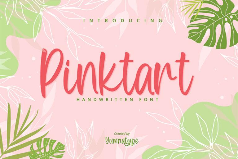 Preview image of Pinktart-Lovely Handwritten Font