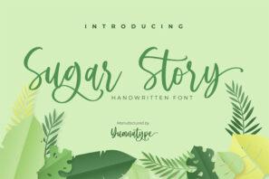 Sugar Story-Sweet Handwritten Font