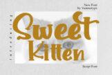 Last preview image of Sweet Kitten